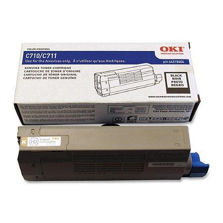 Toner Original Okidata 44318604 Black C710 C711 11k