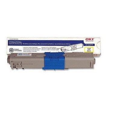 Toner Original Okidata 44973593 | 44469701 Yellow C330 C331 C530 C531 MC361 Mc362 Mc562 3k