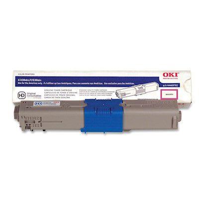 Toner Original Okidata 44973594 | 44469702 Magenta C330 C331 C530 C531 MC361 Mc362 Mc562 3k