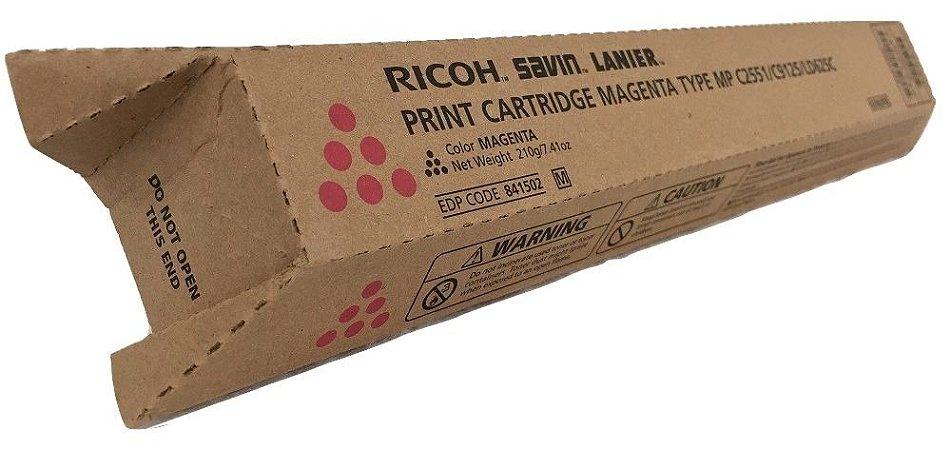 Toner Original Ricoh 841502 Magenta Mp C2030 C2050 C2051 C2550 C2551 9.5k