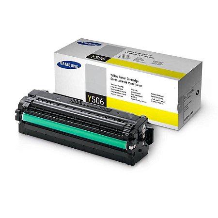 Toner Original Samsung Clt-y506l y506 Yellow   Samsung Clp-680 Clx-6260   3.5k