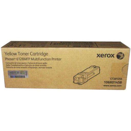 Toner Original Xerox 106r01458 Yellow | Xerox Phaser 6128mfp | 2.5k