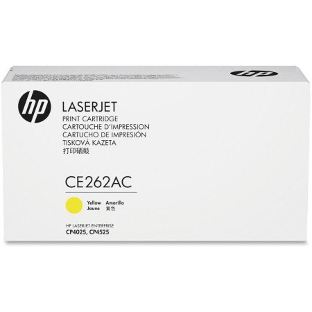 Toner Original  Ce262a Ce262ac 648a Yellow   Color Cp4025 Cp4025n Cp4525 Cp4525n 11k