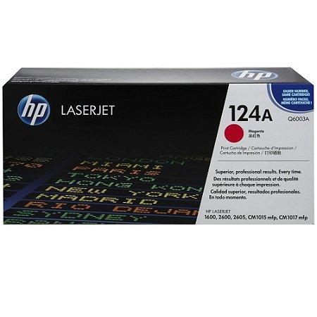 Toner Original Hp Q6003a 124a Magenta| Hp Laserjet 1600 2600 2600n 2605 Cm1015 Cm1017 | 2k
