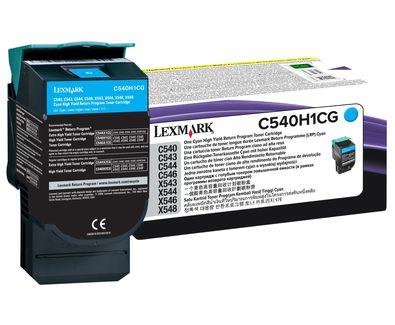 Toner Original Lexmark C540h1cg Cyan | Lexmark C540 C543 C544 X543 X544 X548 | 2.5k