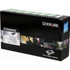 Toner Original Lexmark C734a1kg Black Lexmark C734 C736 X734 X736 X738 8k
