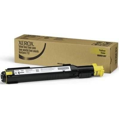 Toner Original Xerox 006r01271 Yellow WC 7132 7232 7242 8k
