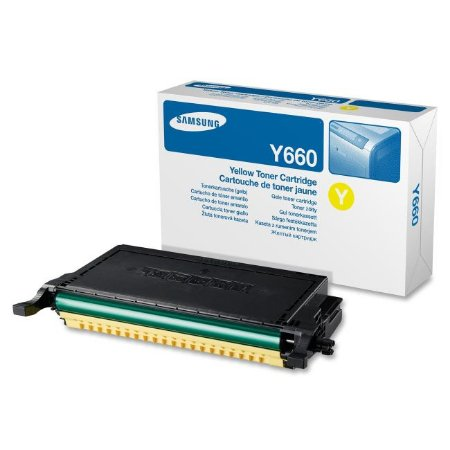 Toner Original Samsung Clp-Y660b 660 Yellow CLP-610 CLP-660 CLX-6200 5K