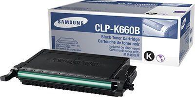 Toner Original Samsung Clp-K660b 660 Black CLP-610 CLP-660 CLX-6200 5.5K