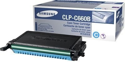 Toner Original Samsung Clp-C660b 660 Cyan CLP-610 CLP-660 CLX-6200 5K