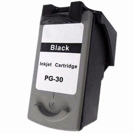 Cartucho Compatível Canon Pg-30 Pg30 Black IP1800 IP2600 MP140 MP190 MP210 MP470 12,6ml