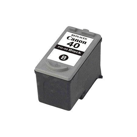 Cartucho Compatível Canon Pg-40 Pg40 Black 13ml