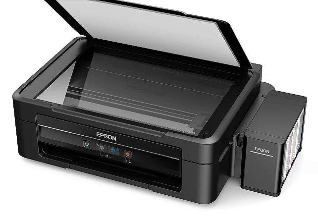 Impressora Multifuncional Epson EcoTank L380 Tanque de Tinta - Colorida USB 2.0