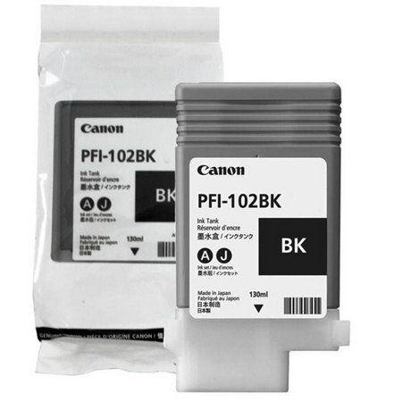 Cartucho Original CanonPfi-102Mbk Black Ipf680Ipf685 Ipf780 Ipf785 IPF770 130Ml