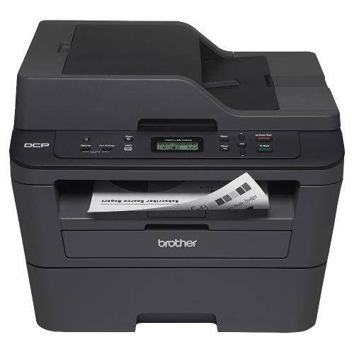 Impressora a LASER Brother DCP-L2540DW 110V Preta Multifuncional e Monocromática