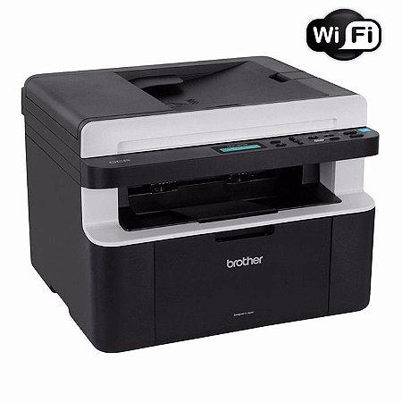Impressora Multifuncional Laser Brother Dcp-1617nw Wi-fi
