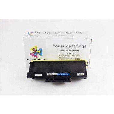 kit 4 un Toner Compatível Brother Tn580 Tn-580 Tn650 Tn-650 Hl5350 5370 8480 Byqualy 7K