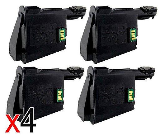 kit 4 un Toner Compatível Kyocera Tk1120 Tk1122 Tk1123 Tk1124 Fs1160 Fs1025mfp FS1125mfp 3k