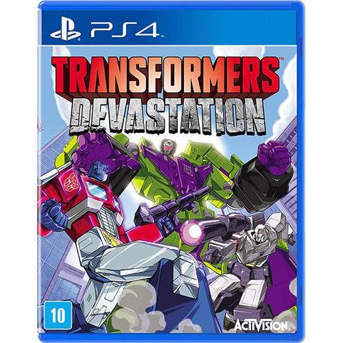 Game Transformers Devastation - Ps4