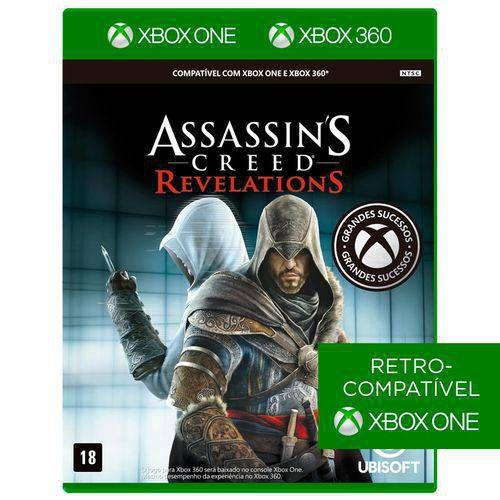 Jogo Assassin's Creed: Revelations para Xbox 360 e Xbox One (X360/Xone) - Ubisoft