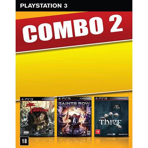 Game Dead Island: Riptide + Saints Row IV + Thief - PS3