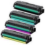kit 4 Cores Toner Compatível Samsung Clt-506l 506 Clp680 Clp-680 Clx6260 Clx-6260 6k