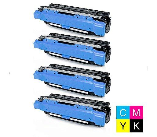 Kit 4 Cores Toner compativel Hp Ce260a  647a Cp4025 Cp4025n Cp4525 Cp4525n 8,5k
