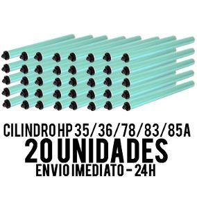 Kit 20 un Cilindro Para Hp Cb435a Cb436a Ce285a Ce278a Cf283a 85a 35a 36a 78a 83a