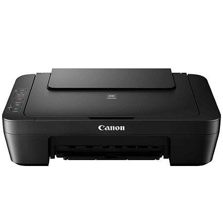 Impressora Multifuncional Canon Pixma MG2510 Jato de Tinta USB Sem Cartuchos