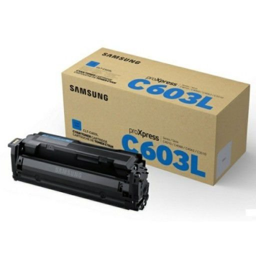 Toner Original Samsung Clt-c603l C603l 603l Cyan C4010 C4012 C4060 C4062 C3510 10k