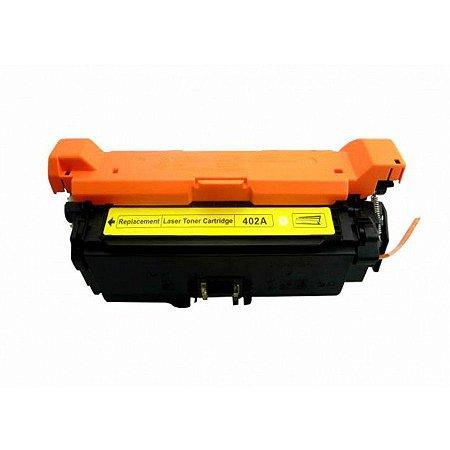 Toner Compatível Ce252a Ce402a Yellow 507a Cp3525 Cp3530 M570 M575 M551 6K