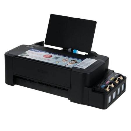 Impressora Epson EcoTank L120 c/ 8 Refis de Tinta 100ml  + 60 Fls Papel Foto 120g