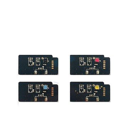 Kit 4un Chip Para Samsung 609 609s K M Y C 609 CLP775 CLP770 7k