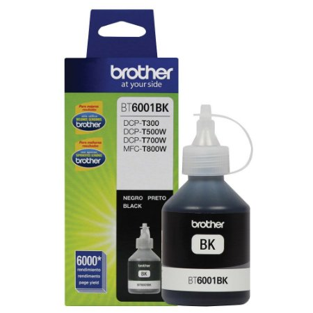 Refil Tinta Original Brother BT6001bk DCP-T300 DCP-T500w DCP-T700w MFC-T800w Val 10/2018