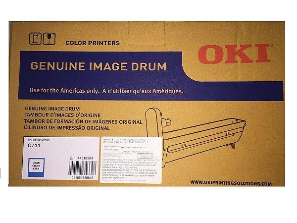 Fotocondutor Original Okidata 44318503 Cyan C711 20k