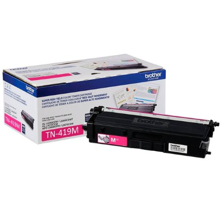 Toner Original Brother Tn419m Tn-419m Magenta Tn419 L8360 L8610 L8900 L9570 9k