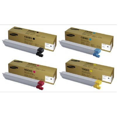 kit 4 un Toner Original Samsung Clt-808s 808s K M C Y | X4300LX X4250LX X4220RX