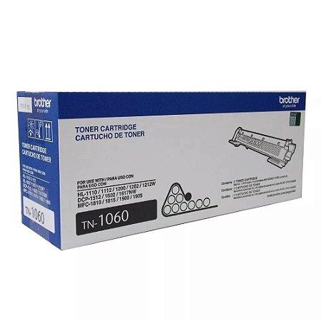 Toner Original Brother Tn1060 Tn-1060 HL1202 hl1212 1512 1602 DCP1617