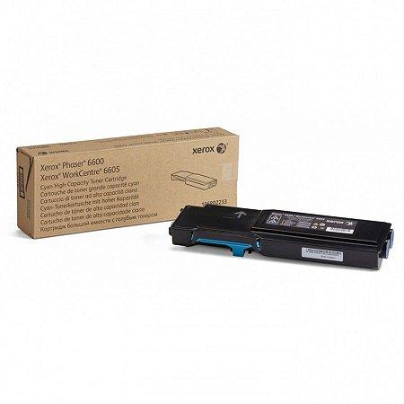 Toner Original Xerox 106r02233 | Cyan Phaser 6600 Wc 6605  6k