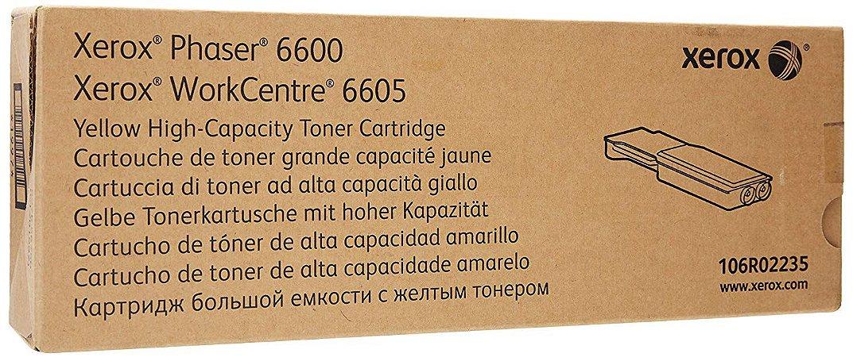 Toner Original Xerox 106r02235 | Yellow Phaser 6600 Wc 6605  6k