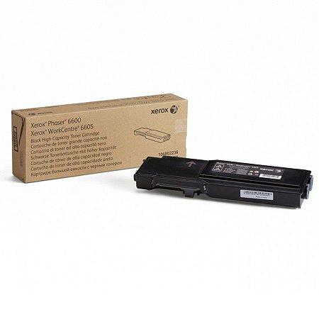 Toner Original Xerox 106r02236   Black Phaser 6600 Wc 6605  8k