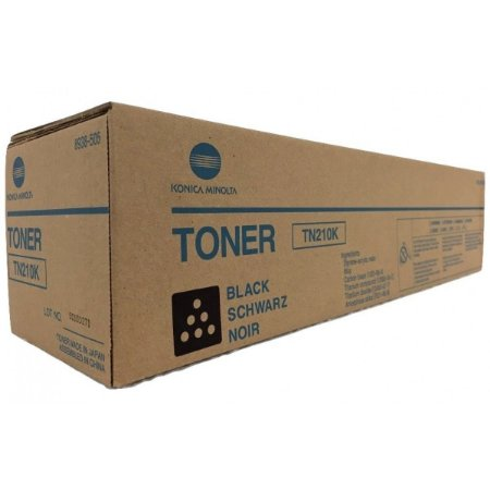 Toner Original Konica Minolta Tn210 Tn210k Black Bizhub C250 C252 20k