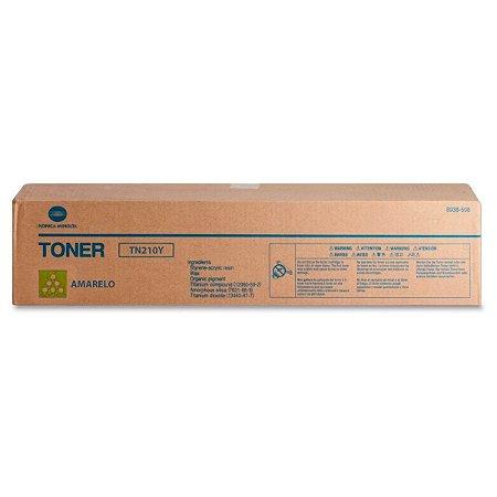Toner Original Konica Minolta Tn210 Tn210y Yellow Bizhub C250 C252 12k
