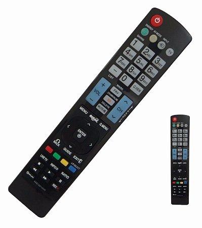 Controle Lg Remoto Tv Lcd Led 3d Smart Akb73615319 Akb741155 com Pilhas