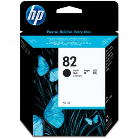 Cartucho Original HP 82 Black Ch565a Ch565ab 69ml