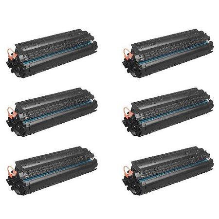 kit 6 unToner Compatível Hp Cb435a 35a 435a Cb435ab | Hp Laserjet P1005 P1006 1.8k