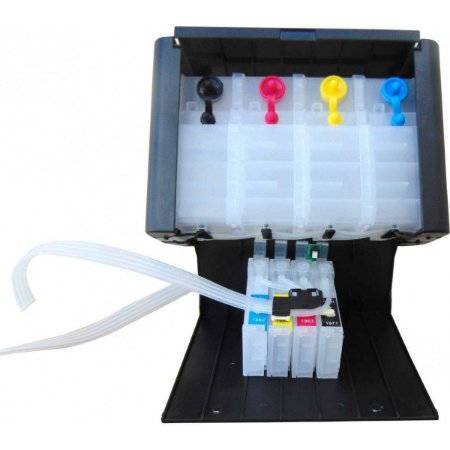 Bulk Ink Epson TX120 T25 TX135 TX320 TX125 T22  c/chip Reset c/ Caixa Elegance