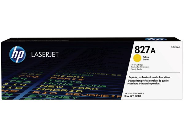 Toner Original Hp Cf302a Cf302ac Yellow M880 | 827a 32k