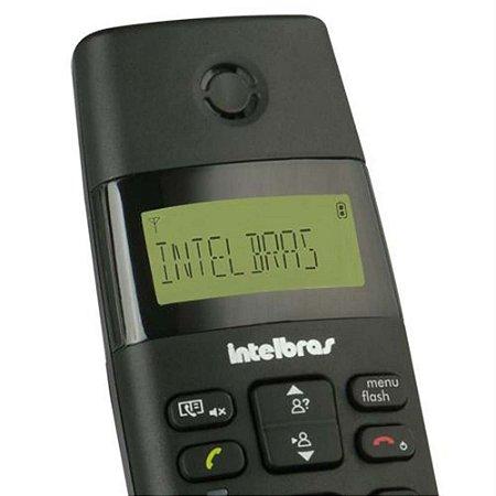 Telefone Sem Fio - Intelbras - TS40 ID - Dect 6.0 C/ Identificador