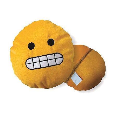 Almofada Emoji Franzido Whatsapp 28cm Fino Acabamento